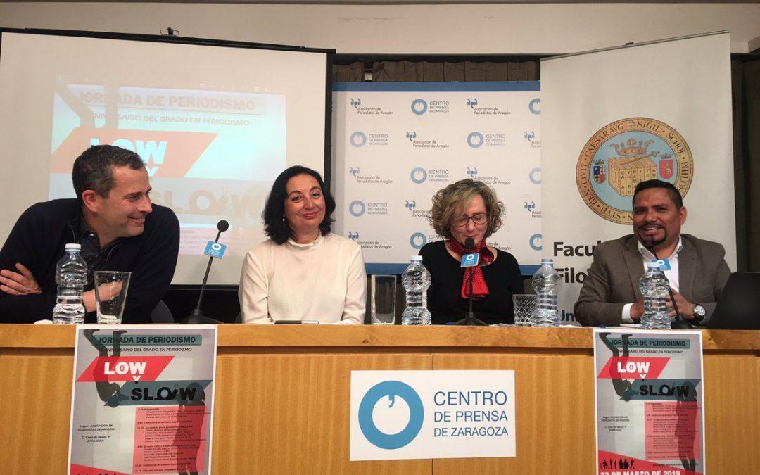 Jorge Miguel Rodríguez, director del grado en Periodismo, participa en las Jornadas de Periodismo Low y Slow