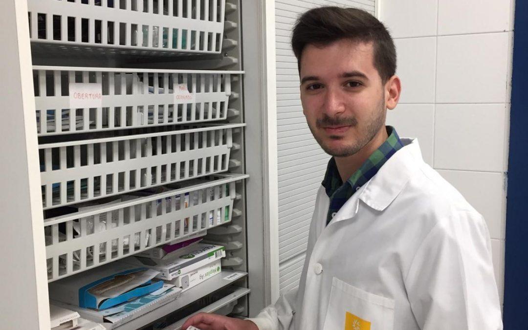 José Manuel del Río, egresado de Farmacia, obtuvo en el examen del FIR (Farmacéutico Interno Residente) el puesto 34 de entre 1334 candidatos