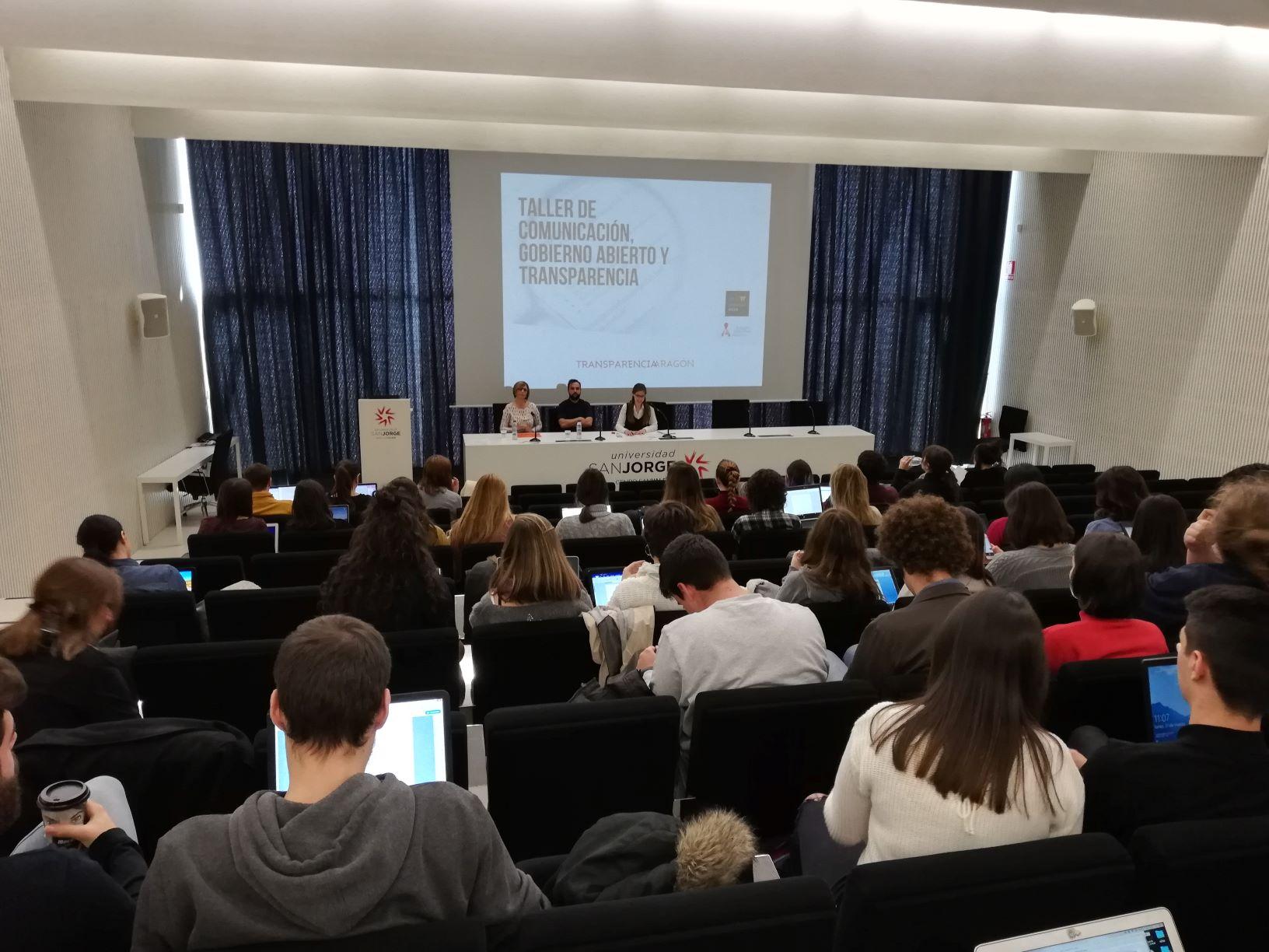 La USJ acoge la primera actividad de la Semana del Gobierno Abierto