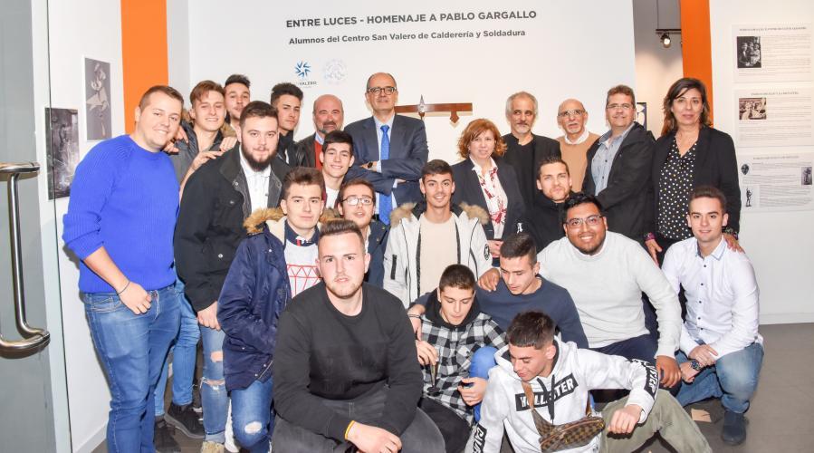 Emotiva inauguración de la exposición 'Entre Luces_homenaje a Pablo Gargallo'