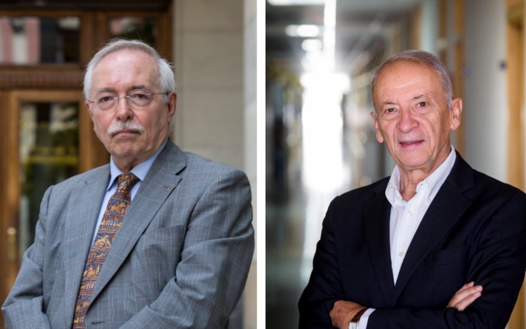 Los primeros doctores Honoris Causa de la Universidad San Jorge serán Luis Oro y Guillermo Fatás