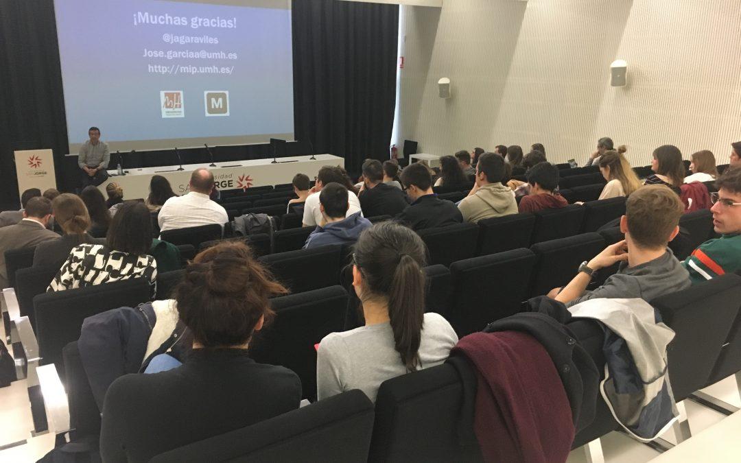 Primeras Jornadas de Innovación y Emprendimiento de la USJ
