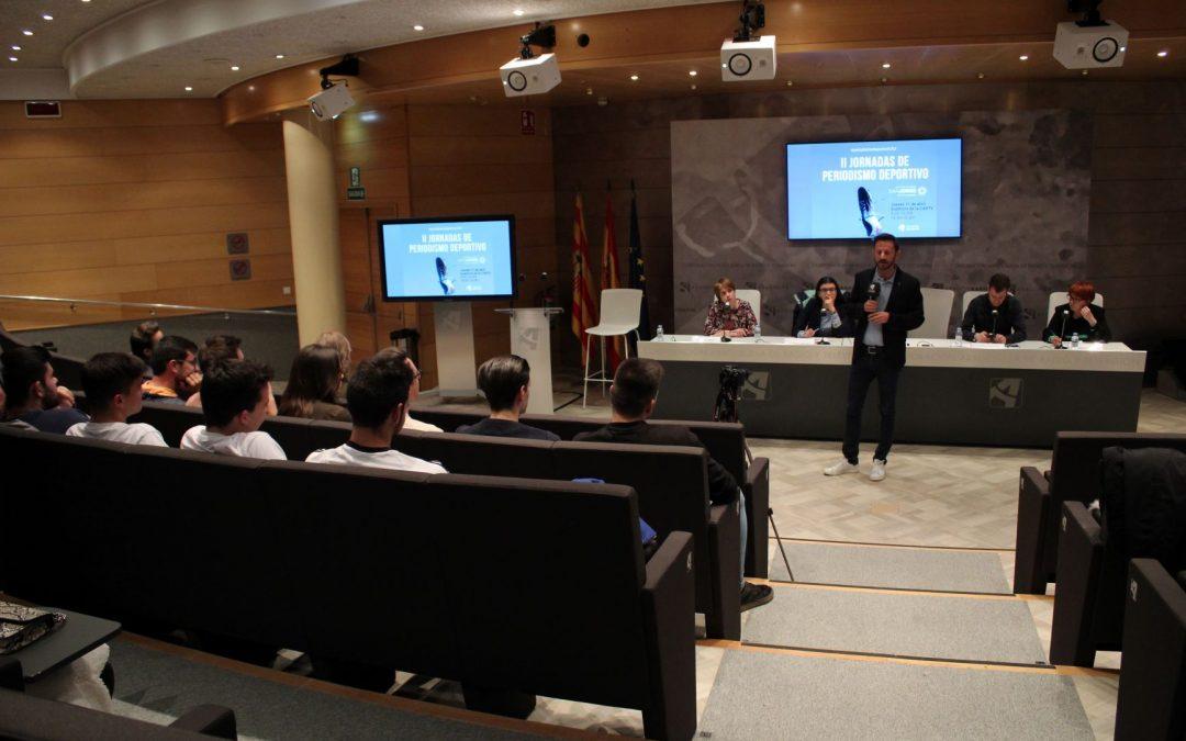 Las segundas Jornadas de Periodismo Deportivo de la USJ abordan las nuevas formas y desafíos que afronta la comunicación deportiva