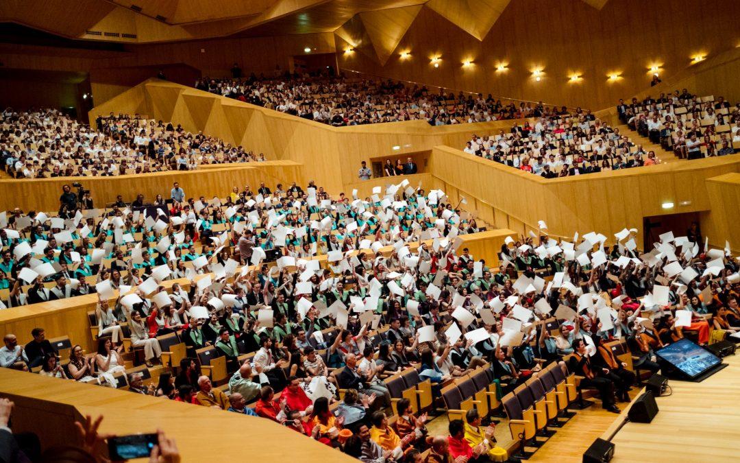 La Universidad San Jorge celebra el acto de graduación de 400 alumnos de la promoción 2019