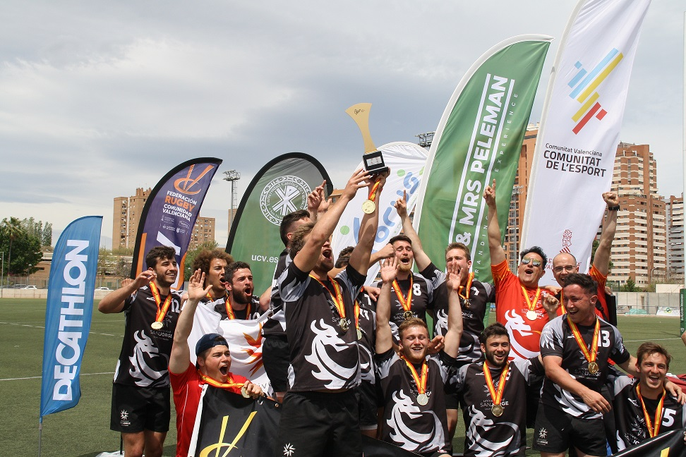 La USJ revalida su título de Campeón de España Universitario de Rugby 7