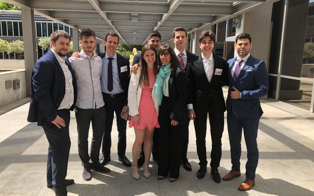 La USJ, semifinalista en la competición nacional de juicios simulados ELSA Spain Moot Court Competition