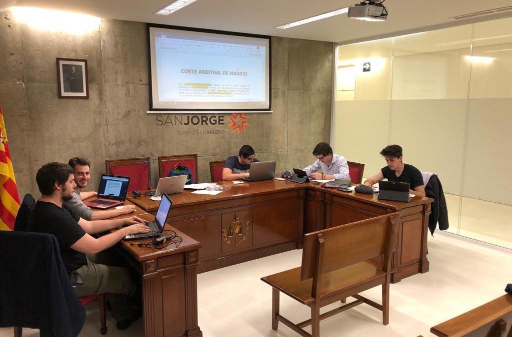 Cinco alumnos del grado en Derecho, finalistas en la ELSA Spain Moot Court Competition