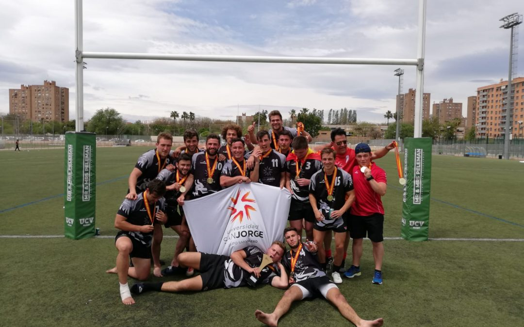 El equipo de Rugby 7 de la USJ gana los Campeonatos de España Universitarios