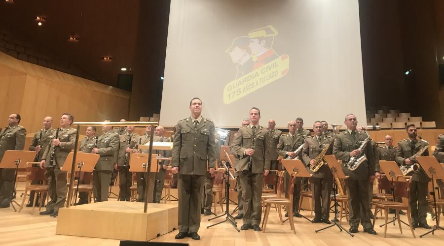 Concierto 175 Aniversario de la Guardia Civil patrocinado por el Grupo San Valero
