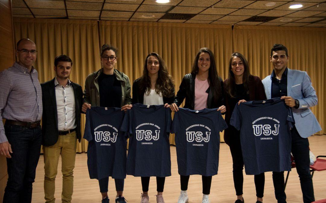 """El futuro del deporte aragonés se da cita en el ciclo de charlas """"Jóvenes Talentos & deporte femenino aragonés"""""""