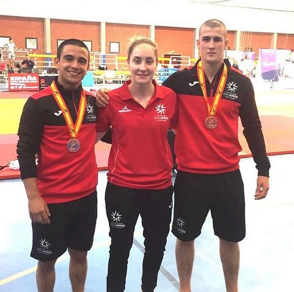 La USJ consigue dos medallas de bronce en los Campeonatos de España Universitarios