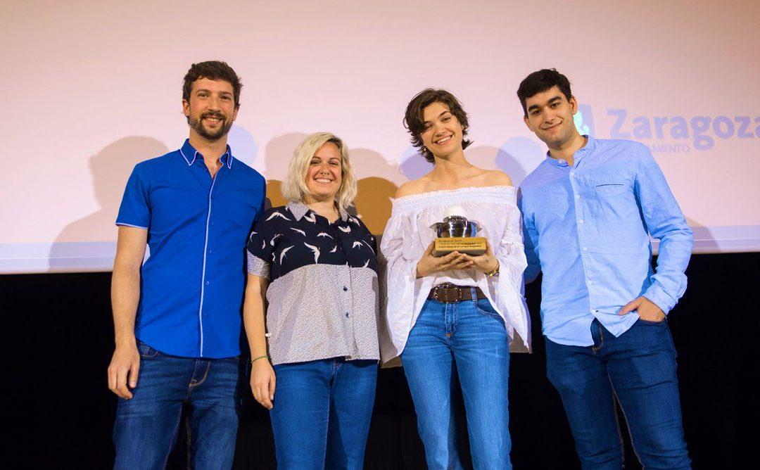 Enma Calvo, alumna de Comunicación Audiovisual, gana el Premio Especial en lengua aragonesa en la II Edición de Zaragoza en Corto