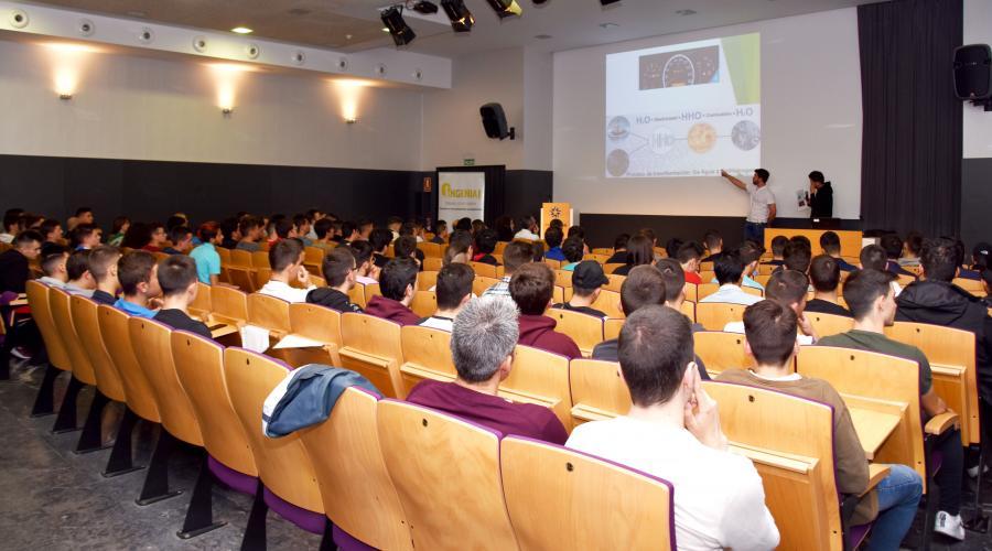Éxito en la XII edición de los Premios Ingenia! organizados por el Centro San Valero