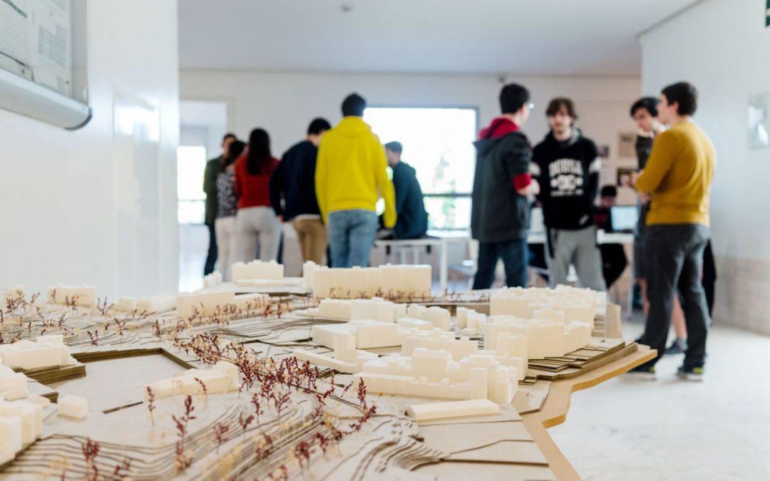 Alejandra Herrera, alumna de Arquitectura, gana el concurso de Arquitectura Efímera del Colegio de Arquitectos de Aragón
