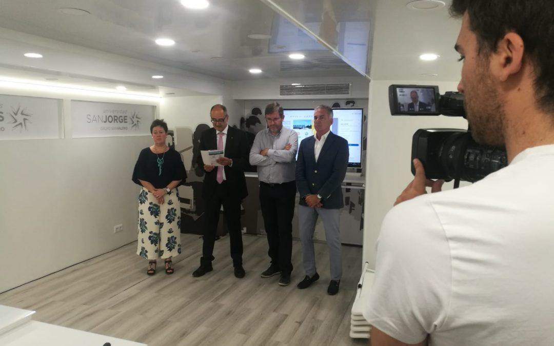 La USJ inaugura en Alcañiz los cursos de verano sobre producción audiovisual, videojuegos y primeros auxilios
