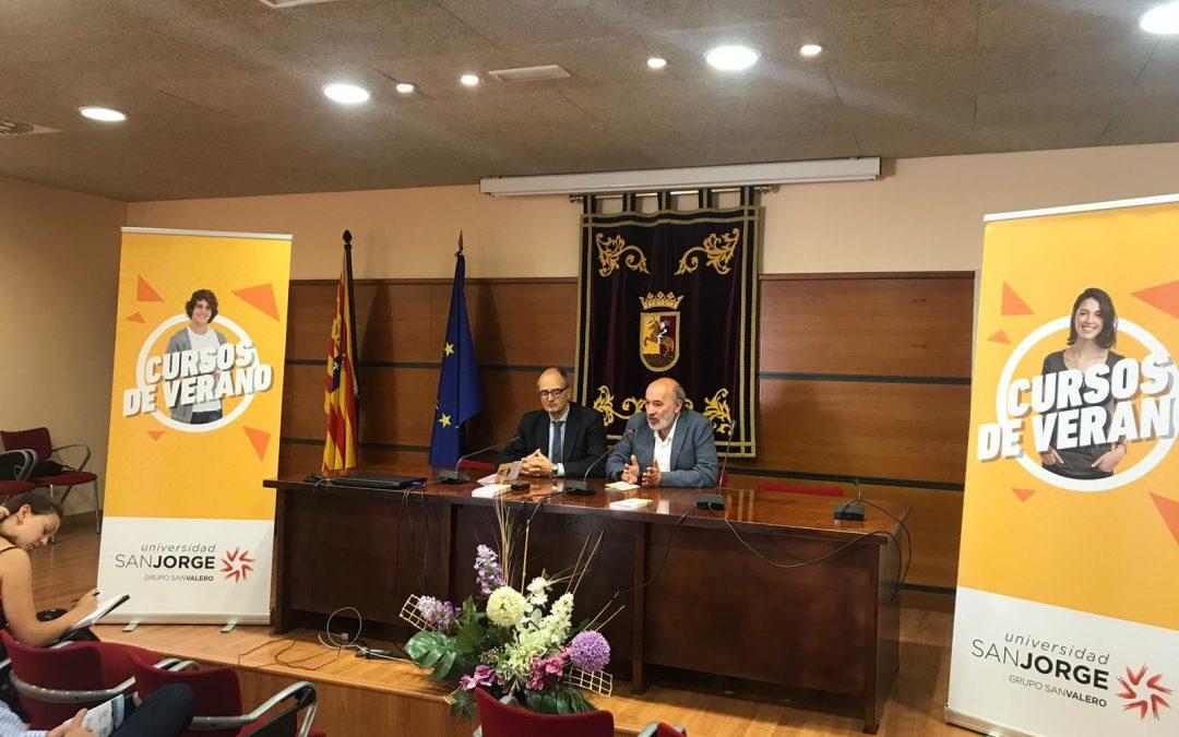 La USJ presenta sus cursos de verano en Calatayud