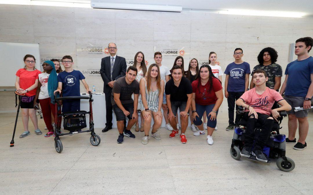 """La Universidad San Jorge inaugura su Campus Inclusivo bajo el lema """"¿Es posible un mundo mejor?"""""""