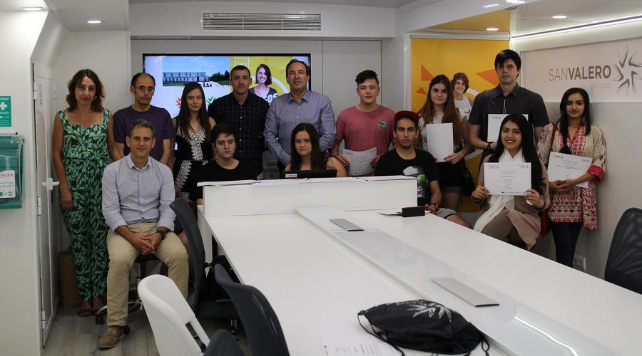 Clausura y entrega de diplomas de los cursos de verano de la Universidad San Jorge y SEAS en Alcañiz