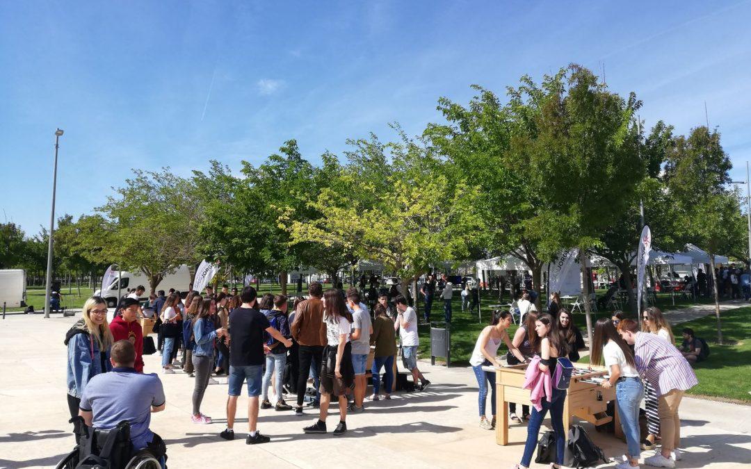 Comienza el nuevo curso en la Universidad San Jorge con una jornada de bienvenida