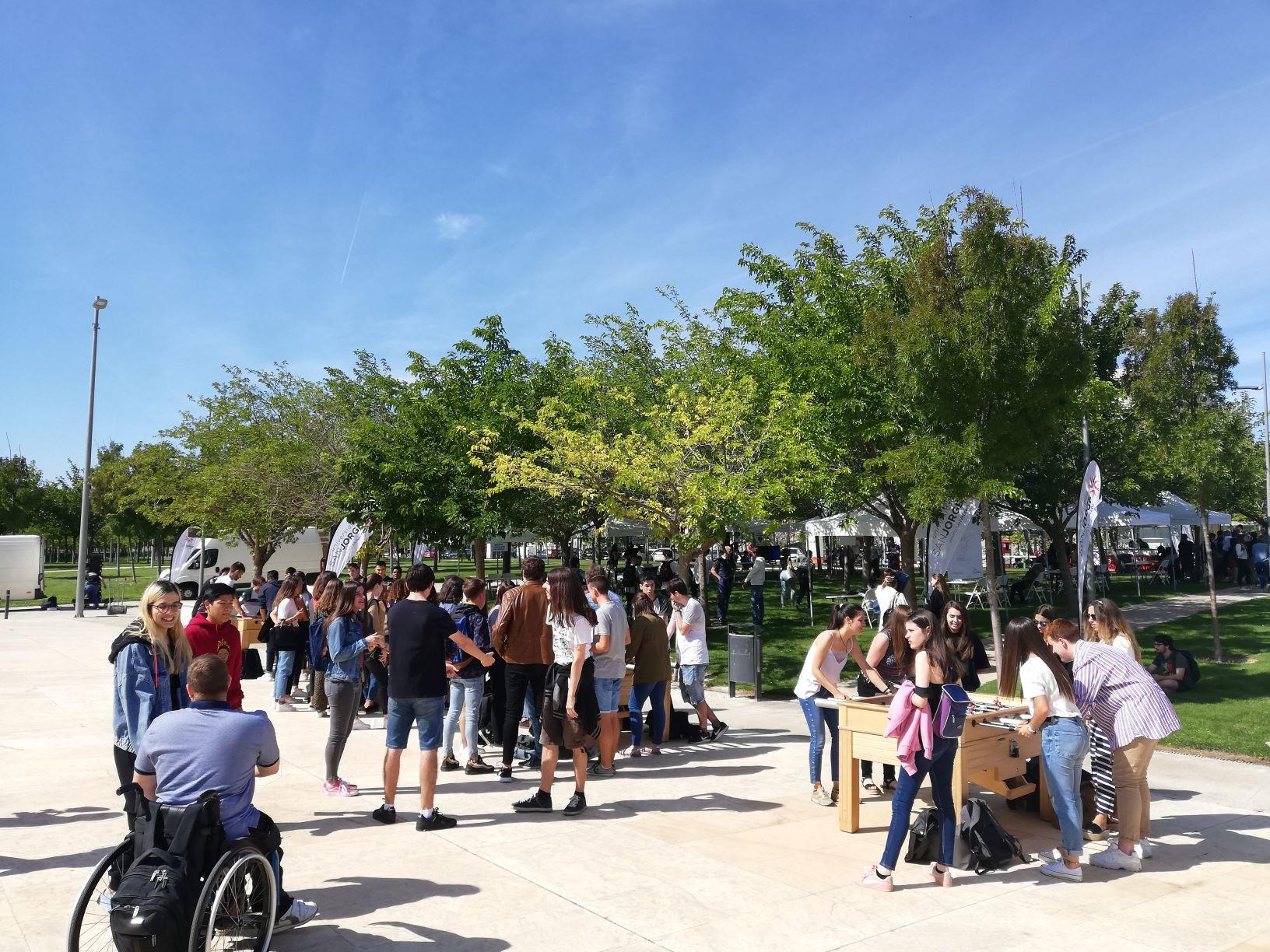 Comienzan el nuevo curso en la Universidad San Jorge con una jornada de bienvenida