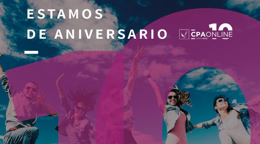CPA Online celebra su 10º aniversario