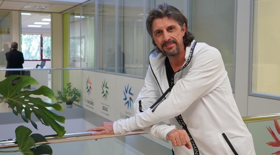 Miguel Ángel Berna visita los Centros del Grupo San Valero