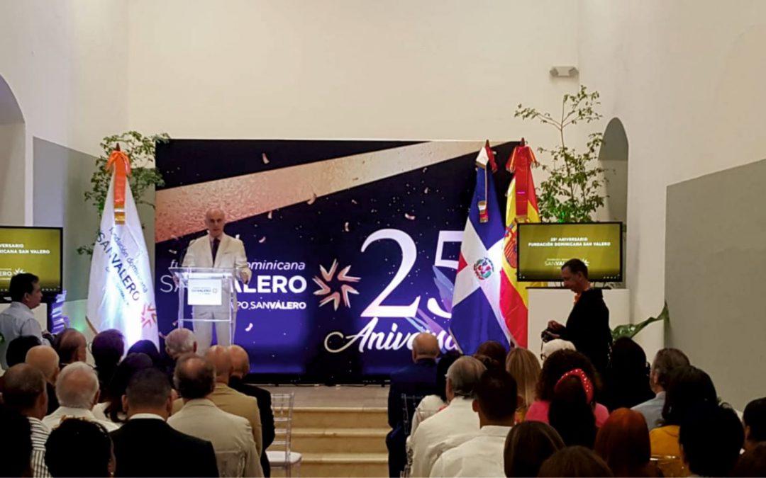 La Embajada de España en República Dominicana elogia al Grupo San Valero por su labor  formativa y de cooperación en este país