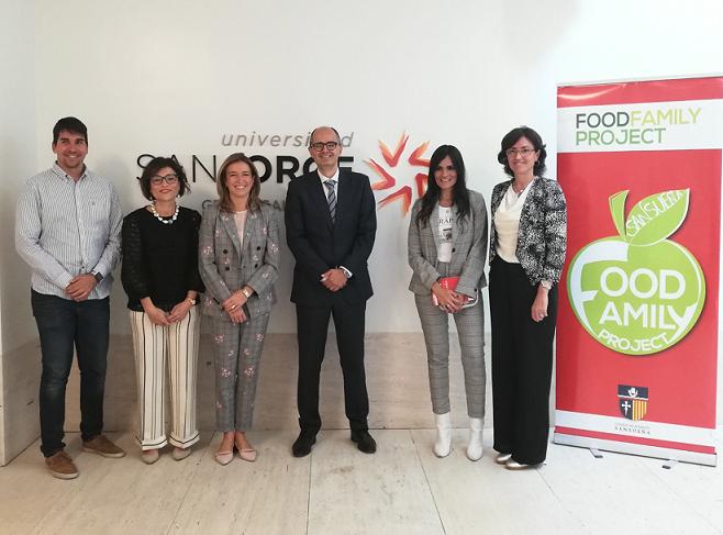 La Universidad San Jorge y el Colegio de Fomento Sansueña colaboran en Food Family Project, un proyecto pionero sobre alimentación saludable