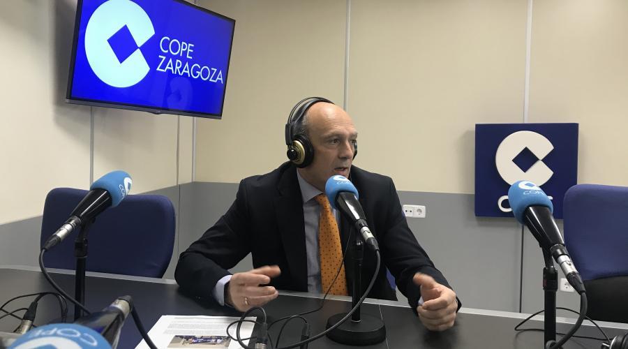César Romero habla en Cope sobre la trayectoria de la Fundación Dominicana San Valero