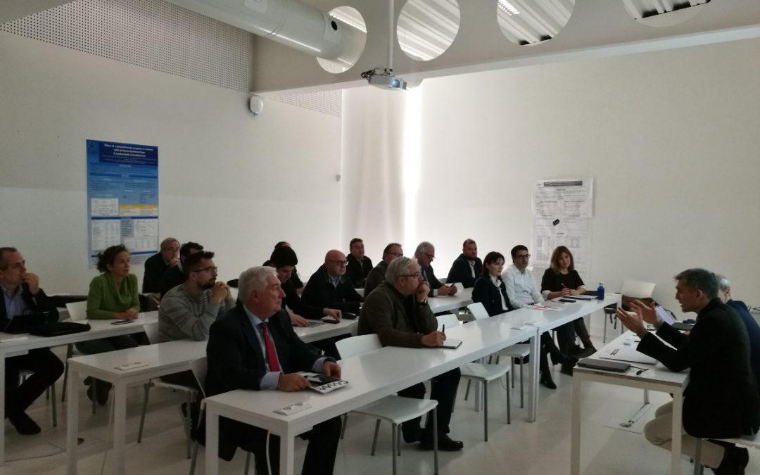 El Clúster de la Maquinaria Agrícola de Aragón coordina con las Cámaras de Comercio y Aragón Exterior su estrategia de internacionalización