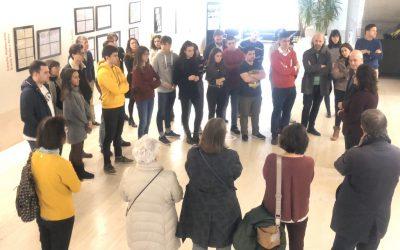 """La exposición """"Posmetrópolis y territorios. Aproximaciones escritas y dibujadas"""" del arquitecto Juan Carlos García-Perrote, en la USJ"""