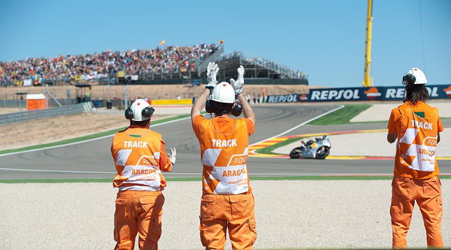 MotorLand y Grupo San Valero te animan vivir las carreras desde dentro del circuito