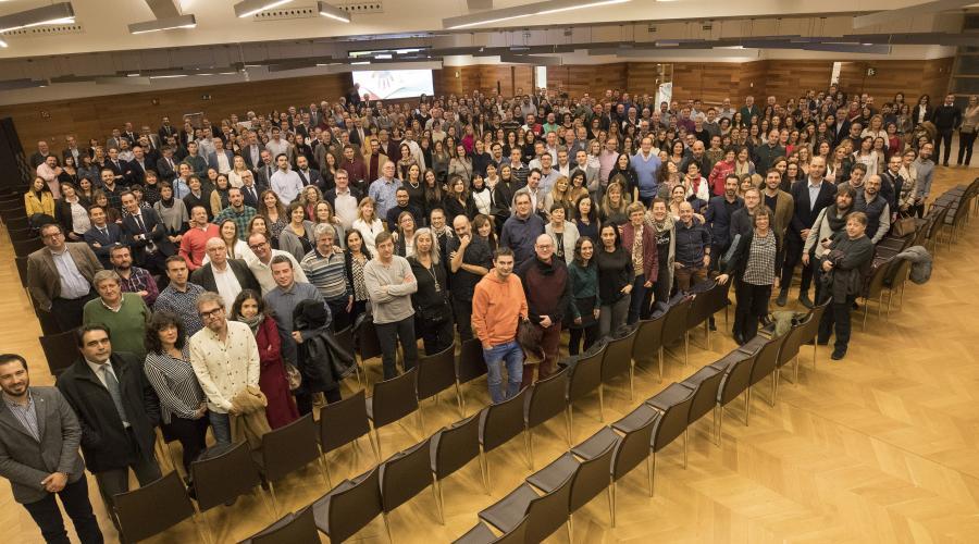 Encuentro del personal del Grupo San Valero para celebrar la Navidad