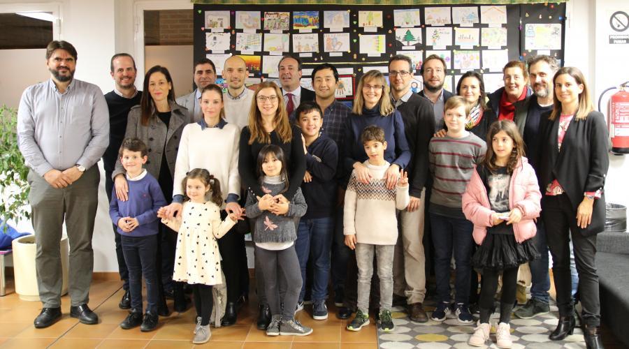 Entrega de premios del X Concurso de tarjetas navideñas del Grupo San Valero