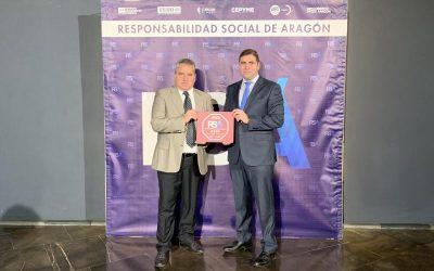 Grupo Sn Valero obtiene el Sello Responsabilidad Social Aragonesa 2020