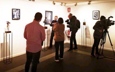 Centro San Valero presenta la exposición 'Entre Luces Homenaje a Pablo Gargallo' en la Sala CAI de Huesca