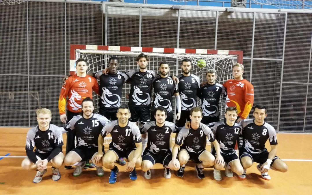El equipo masculino de balonmano de la USJ, campeón de Aragón universitario