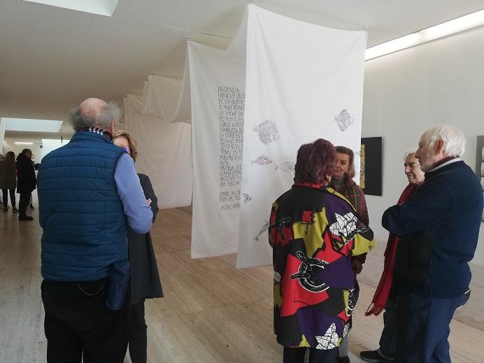 El Servicio de Actividades Culturales inaugura la exposición de Belén Gómez «Los trabajadores del mar»