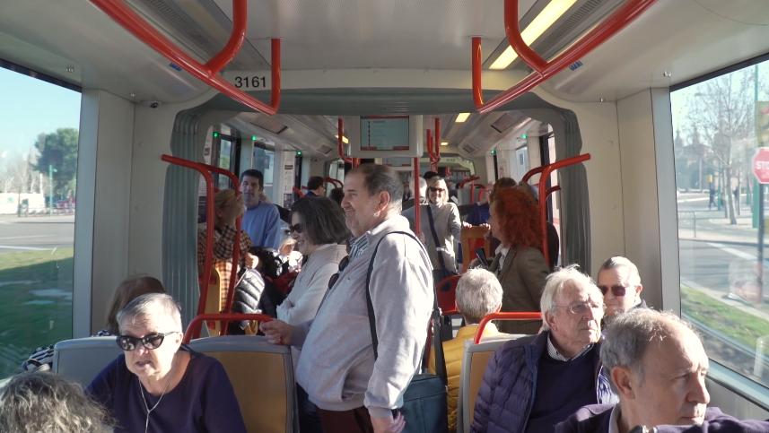 Tranvi_Arq, una iniciativa para descubrir la arquitectura de Zaragoza a bordo del tranvía