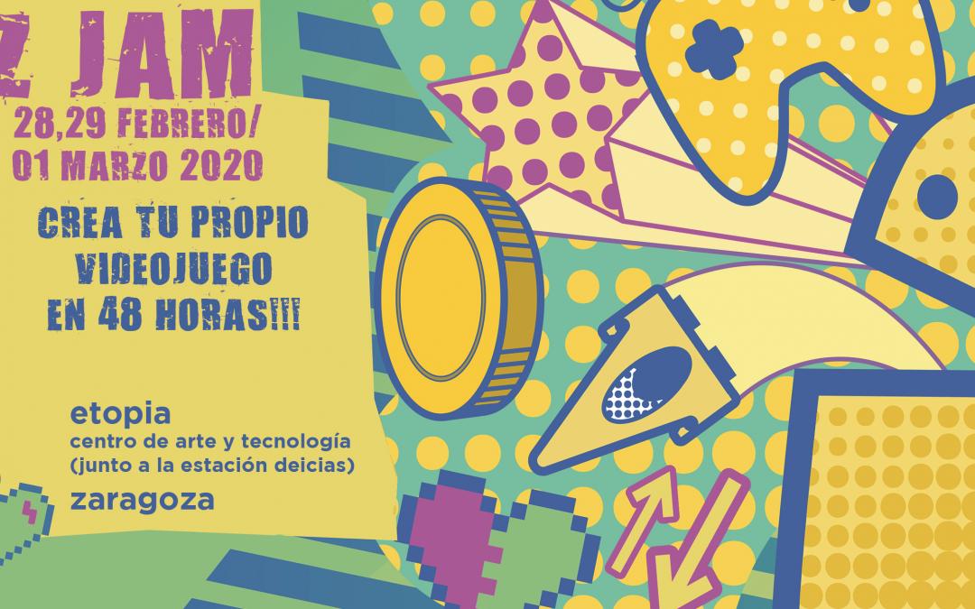 La segunda edición de la competición de videojuegos Z-Jam arranca con todas las plazas cubiertas
