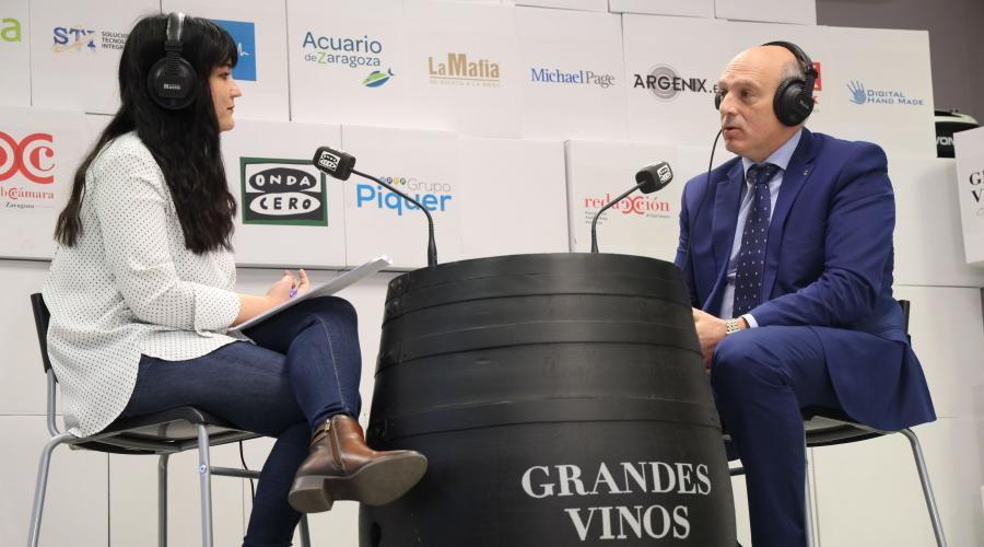 César Romero habla sobre FP en la iniciativa 'Vino a Contar' de Cámara Zaragoza