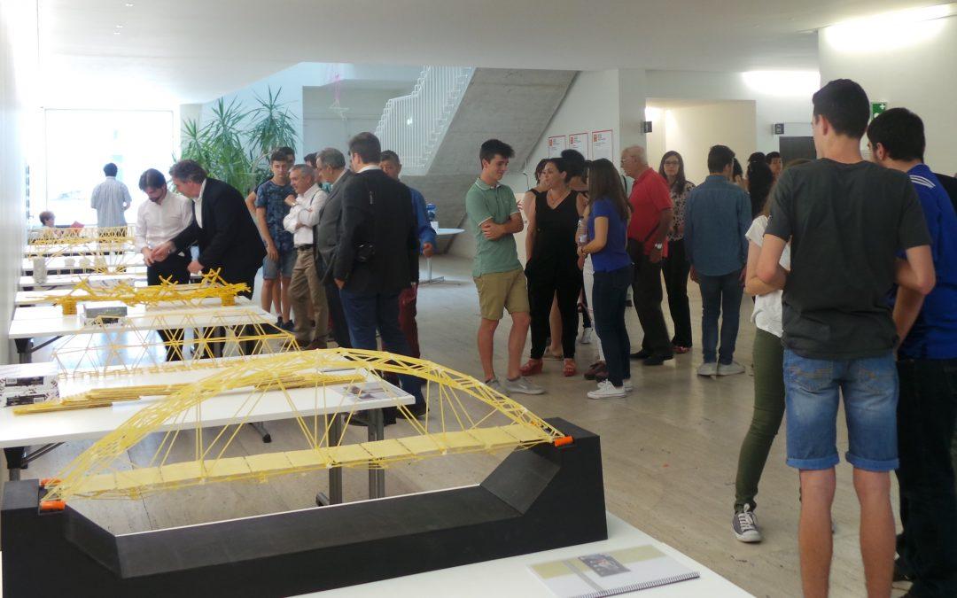"""El concurso del grado en Arquitectura """"Construye un puente hacia tu futuro"""" impulsa la creatividad de alumnos de centros escolares"""