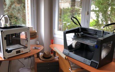 Alumnos y profesores de la Universidad San Jorge ayudan en la fabricación de material sanitario usando las impresoras 3D de la USJ