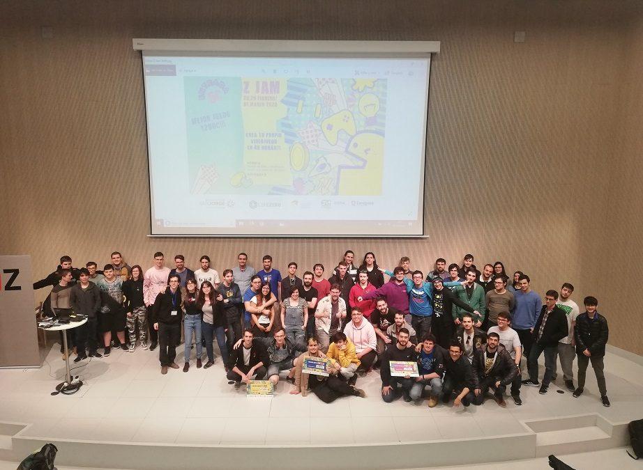 Dos de los tres premios otorgados en la Z-Jam recaen en alumnos y profesores de la Universidad San Jorge