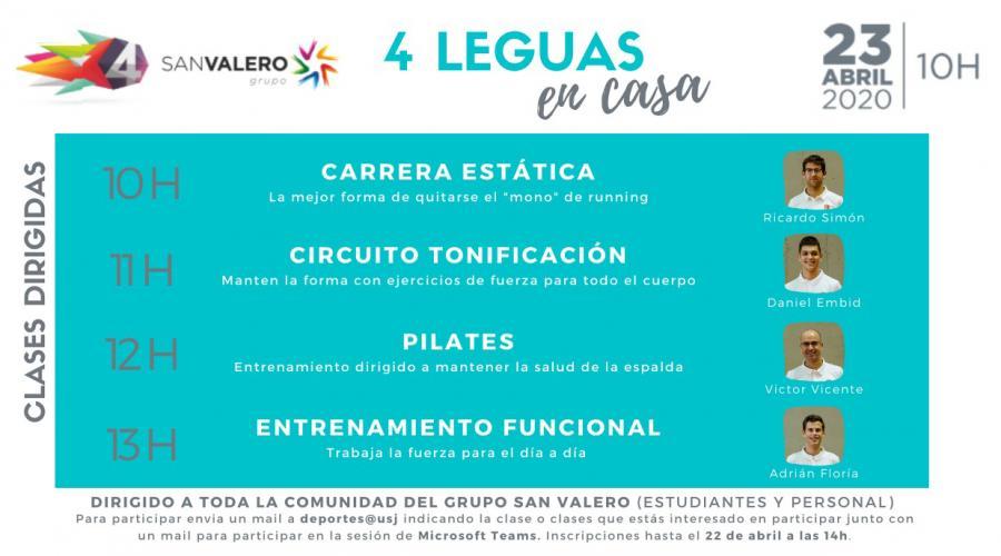 """Las '4 leguas del Gállego' se celebrarán desde los hogares como las """"4 leguas en casa"""""""