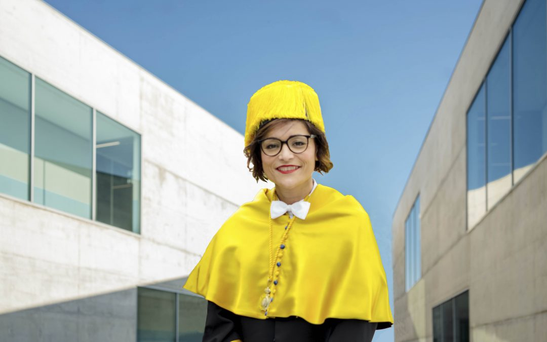 Berta Sáez comienza su andadura como rectora de la Universidad San Jorge