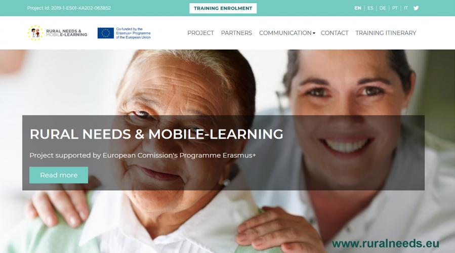 proyecto europeo Rural Needs & Mobile Learning