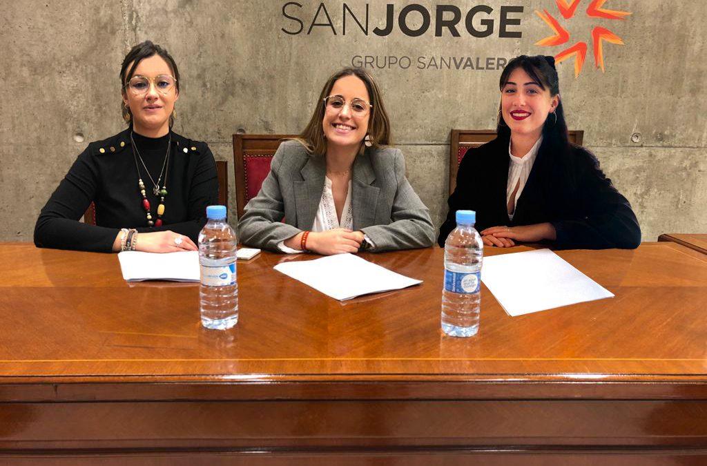 Tres alumnas de Derecho y ADE de la USJ, finalistas en una competición nacional de juicios simulados