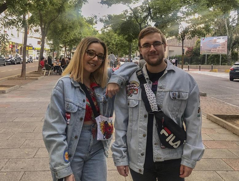 Los alumnos de la USJ Lucía Santos y David Moreu ganan un concurso internacional de publicidad