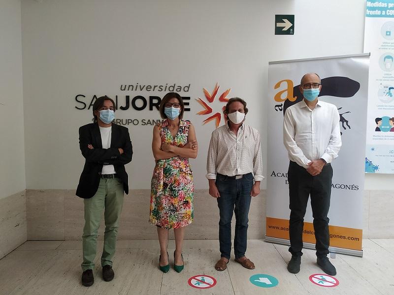 La USJ y la Academia del Cine Aragonés colaborarán para realizar actividades de formación, asesoramiento e investigación